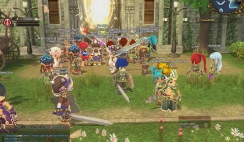 บรรยากาศวันเปิด OB วันแรก Hero of the Obelisk เกมส์แบ๊วกระแสแรงน่าเล่น