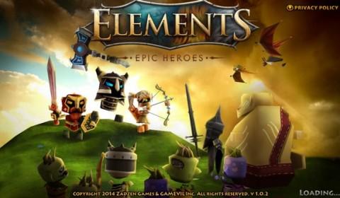 [รีวิวเกมมือถือ]Elements : Epic Heroes เล่นได้ทั้ง iOS/Android