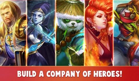 Heroes Charge เกมส์ลุยดันเจี้ยนบนมือถือ กับฮีโร่หน้าตาคุ้นเคย