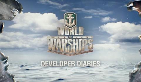 ผู้พัฒนาเกม World of Warships เผยข้อมูลเชิงลึกของเรือรบแบบ ช็อตต่อช็อต!!