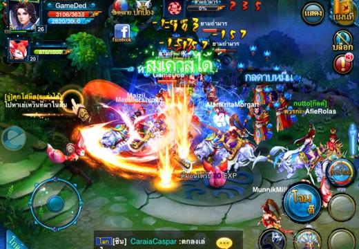 Sword and Zen เกมส์มือถือแนว MMORPG มาแรงส่งท้ายปี