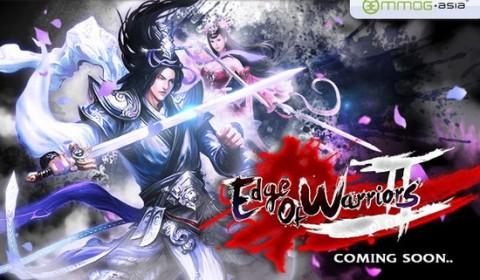 MMOG พร้อมปล่อยเกมส์ Edge of Warriors 2 ภาคต่อเกมส์ดัง เร็วๆนี้!!