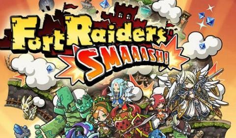 สร้างกองกำลังทหารสุดมันส์ใน Fort Raiders SMAAASH เกมสร้างเมืองแนว 2D บนมือถือ