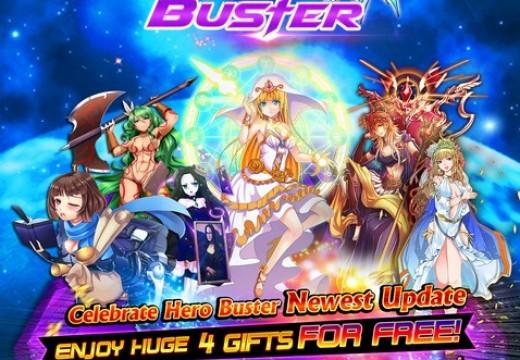 Hero Buster เปิดแล้ววันนี้พร้อมเปิดตัวแผนที่ Holy Kingdoms