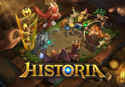 เตรียมพบ Historia การผจญภัยไปกับเกมส์มือถือ แนวบอร์ดเกมจากค่าย GAMEVIL เมษานี้