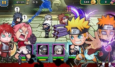 เปิดสงครามมหานินจา Ninja Arena เกมการ์ด Action เอาใจคอการ์ตูน