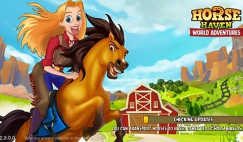 สร้างฟาร์มสวรรค์ของม้าใน Horse Haven World Adventures ออกท้าทายแข่งขันกับม้าพันธุ์ใหม่ทั่วโลก