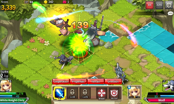 เกมมือถือ Fantasy War Tactics