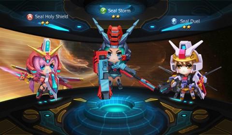 Galaxy Angel สงครามนักรบสาวสุดโมเอะ พร้อมเปิดศึกทั้ง iOS และ Android แล้ววันนี้