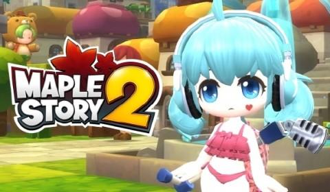 MapleStory 2 ประกาศวันอย่างเป็นทางการ เตรียมลุยวันที่ 7 เดือน 7 นี้