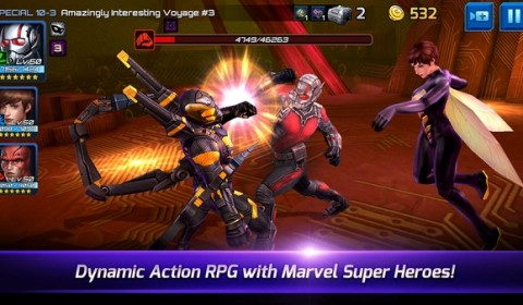 MARVEL Future Fight อัพเดต Ant-Man ลงเกมแล้ว!!
