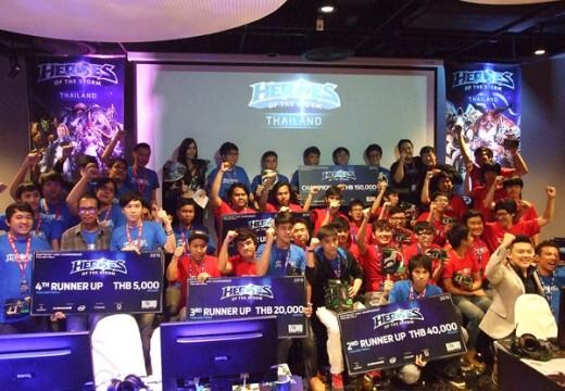Play10Lose11 โชว์เข้มคว้าแชมประเทศไทย Heroes of the Storm เตรียมลุยต่อแชมป์ SEA