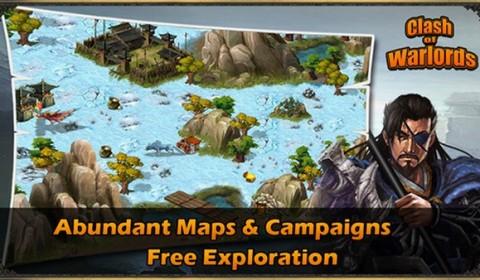 เปิดสงครามมหาบุรุษสามก็กอีกครั้งใน Clash of Warlords เกม  Turn-based strategy ต่อสู้สไตล์จีน