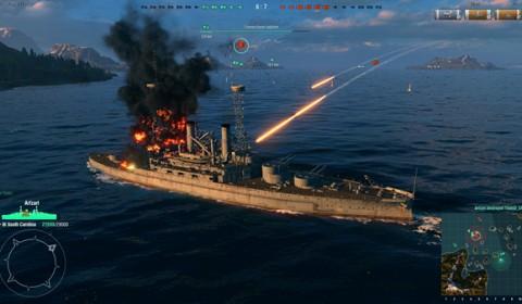 เปิดสมรภูมิเต็มรูปแบบ เวิลด์ออฟวอร์ชิพส์ (World of Warships) พร้อมให้มันส์ได้ไม่จำกัดแล้ววันนี้