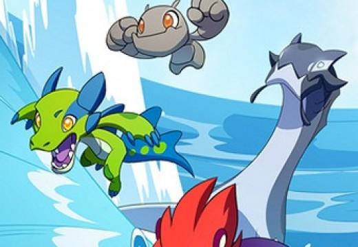 เปิดศึกต่อสู้ระหว่างมอนสเตอร์ใน Mino Monsters Evolution เกมมือถือ Turn-Base Battle ตัวละครจากการ์ตูนดัง