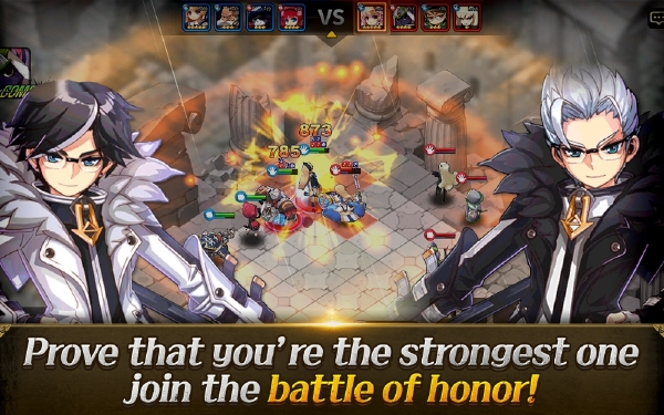 เกม Forged in Battle