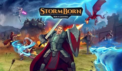มหาสงคราม StormBorn: War of Legends  ยกทัพบุกทำลายกำแพงเมือง