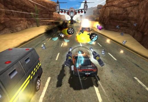 Rush N Krush เกมใหม่แนว Arcade Racing ปล่อยดาวน์โหลดแล้ววันนี้
