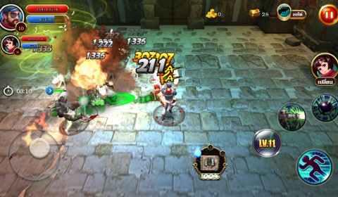 Treasure Raider เกมส์มือถือใหม่ที่จะพาคุณไปล่าขุมทรัพย์สุดขอบโลก