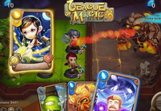 เปิดโลกแห่งความมันส์ไปกับเกมการ์ดที่สุดแหวกแนว League of Magic