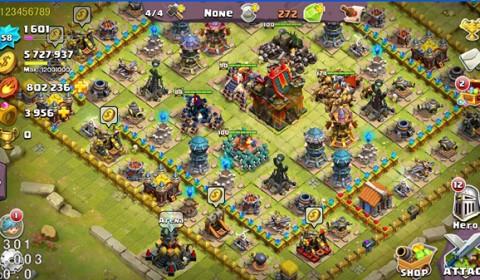 Clash of Lords 2 : ล่าบัลลังก์ สร้างเมืองสั่งสมกองกำลัง ถล่มทัพศัตรู