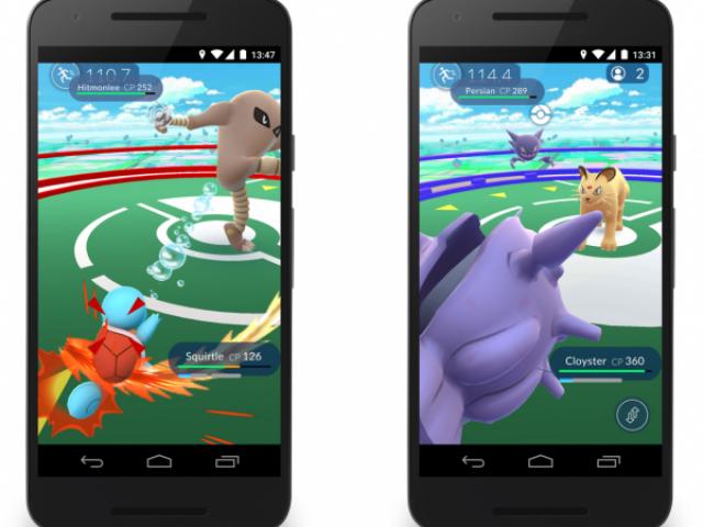 ข้อมูลใหม่ของ Pokemon GO เผยวิธีจับโปเกม่อน และการต่อสู้เพื่อครอบครองยิม
