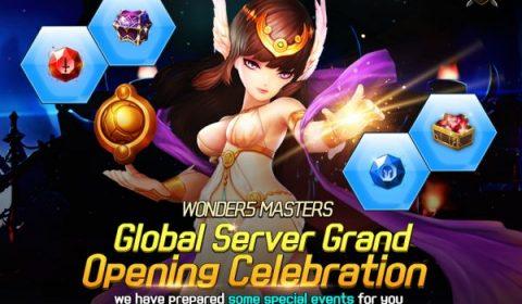 เกม RPG มือถือ Wonder5 Masters ปล่อยให้ดาวน์โหลดทั่วโลกแล้วทั้ง iOS และ Android