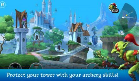Tiny Archers เกมยิงธนูแนว tower-defense ปล่อยให้ดาวน์โหลดแล้วทั้ง iOS และ Android