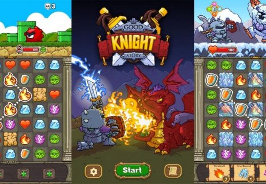 [Review] เกม Puzzle-RPG สุดแนว Good Knight Story
