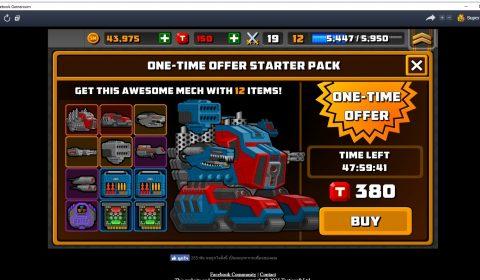 [PC/Android/iOS]ระเบิดความมันส์ไปกับศึกหุ่นยนต์สะท้านโลก Super Mechs