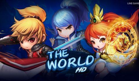 LINE GAME ร่วมมือกับผู้พัฒนาเกมชื่อดัง NetEase เตรียมเปิดเกมใหม่ The World HD