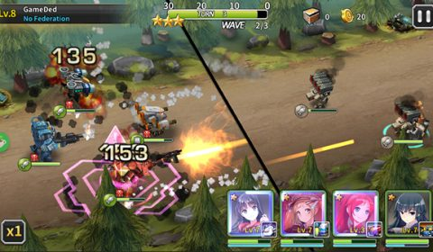 Goddess Kiss โฉมงาม และ เหล่าหุ่นรบ เปิดสมรภูมิให้มันส์ทั้ง iOS และ Android