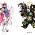 จะเป็นยังไง ถ้าตัวละครใน Overwatch มาอยู่ใน Final Fantasy (ชมภาพ)