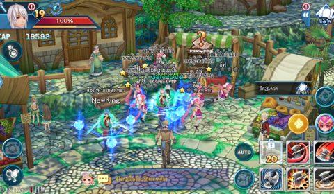 Fantasy Frontier เกมส์มือถือใหม่ อารมณ์ MMORPG ขนานแท้ เปิด OBT แล้ววันนี้ทั้ง 2 ระบบ