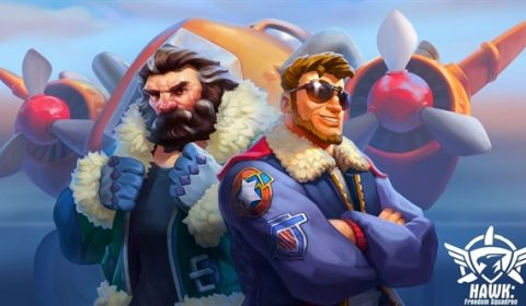 (รีวิวเกมมือถือ) HAWK: Freedom Squadron : เกมยานยิงกระสุนเต็มจอ มีบนมือถือแล้ว