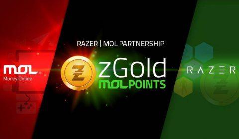 Razer แต่งตั้งให้ MOL เป็นผู้จัดจำหน่าย zGold อย่างเป็นทางการ
