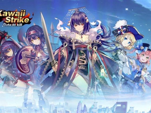 (รีวิวเกมมือถือน่าเล่น) KawaiiStrike เกม MOBA ที่มีแต่สาวๆ