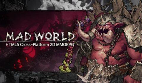 Mad World เกม MMORPG บนเว็บออนไลน์ จากค่ายเกมอินดี้ ที่พัฒนาด้วย HTML5