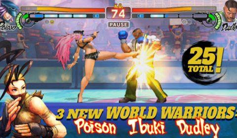 เกมมือถือ Street Fighter IV Champion Edition เปิดตัวบน App Store แล้ววันนี้