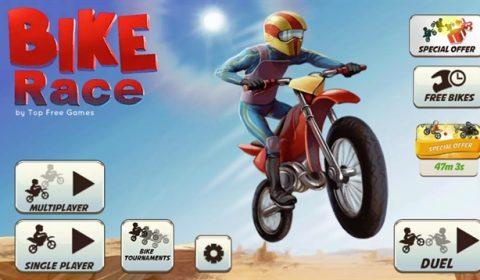 (รีวิวเกมมือถือน่าเล่น) Bike Race : มาหัวร้อนกับเกมมอเตอร์ไซด์วิบากในตำนานกัน