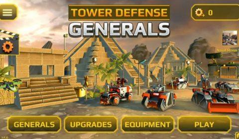 (รีวิวเกมมือถือ) Generals TD HD : ต้านทานกองทัพกับเกมแนว Tower defense