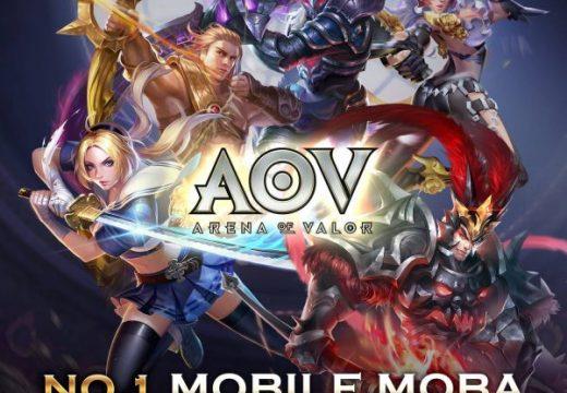 Arena of Valor หรือ RoV เกม MOBA ยอดนิยมในไทย เปิดตัวอย่างเป็นทางการที่สิงคโปร์ มาเลเซีย และฟิลิปปินส์แล้ว