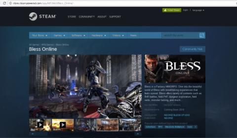 คอนเฟิร์มแล้ว! Bless Online Rebuild เตรียมเปิดตัวบน Steam ภายในปี 2018
