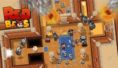 [เกมมือถือเล่นง่ายสนุก]รวมพลังเหล่ากองทัพฮีโร่ Red Bros