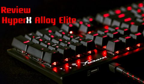 Game-Ded Review HyperX Alloy Elite [Red Switch] คีย์บอร์ดเทพๆในราคาสุดคุ้ม