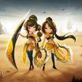 Com2uS เผยภาพ 2 มอนสเตอร์ใหม่จาก Summoners War แฝดสาวสุดเท่!!