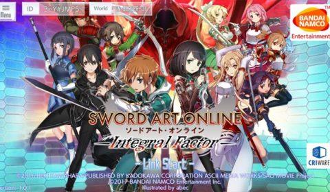 (รีวิวเกมมือถือ) Sword Art Online: Integral Factor สุดยอดเกม SAO ในเรื่องราวใหม่