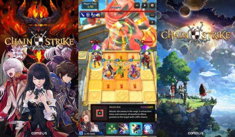 Com2uS เปิดตัวเกมใหม่ Chain Strike กลิ่นอายอนิเมะ เน้นกลยุทธ์ แหวกแนวไม่ซ้ำใคร!