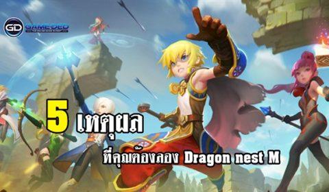 5 จุดเด่นที่คุณห้ามพลาด Dragon Nest M