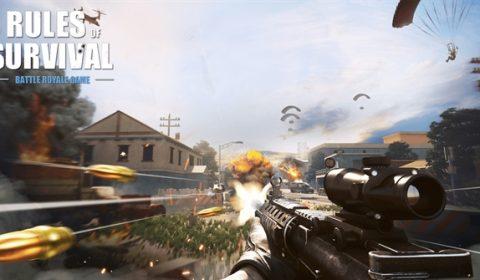 (รีวิวเกม) Rules of Survival โหมด FPS ความมันส์ในแบบบุคคลที่หนึ่ง